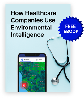 air quality data in healthcare