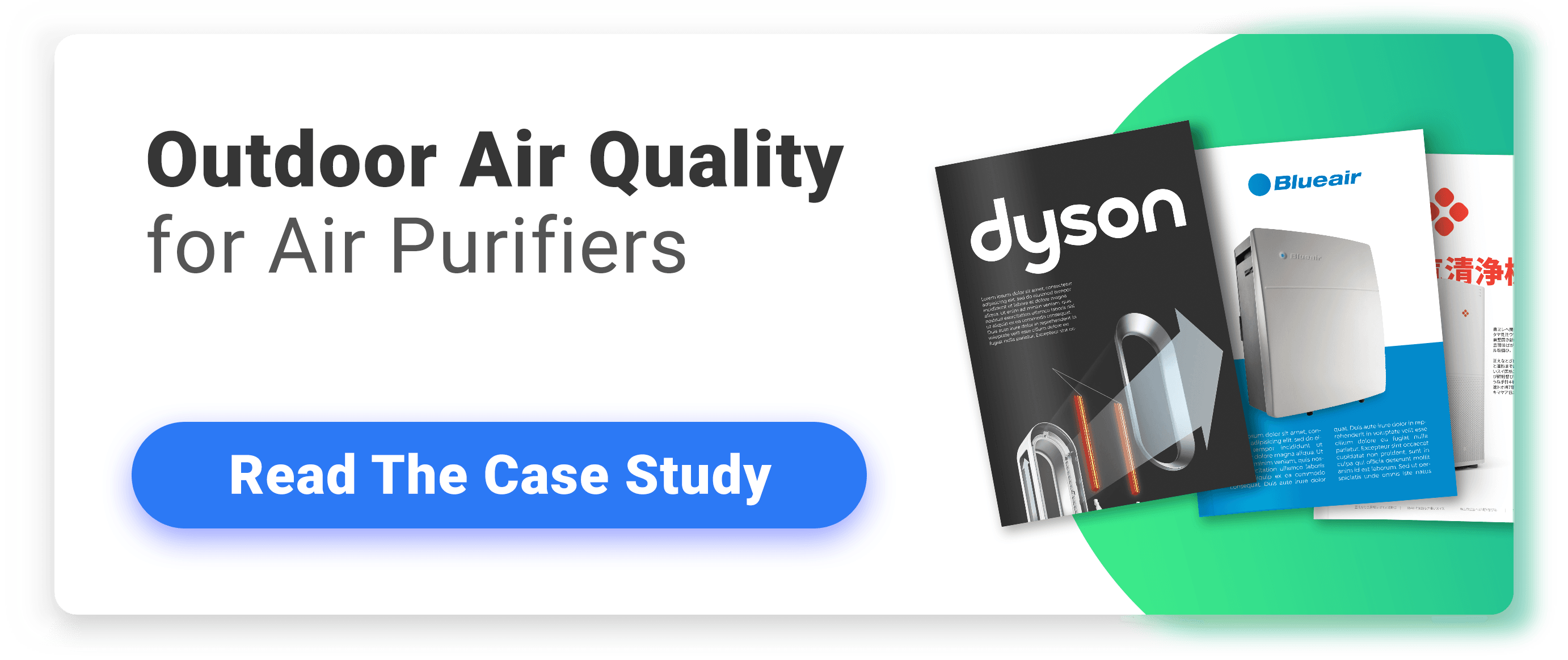 Outdoor Air Quality Dyson Case Study