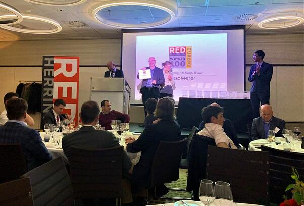 BreezoMeter accepts Red Herring Europe award