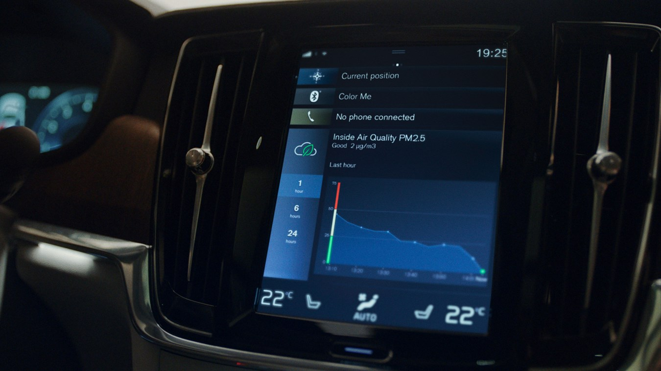BreezoMeter Provides Outdoor Environmental Intelligence for Better In-Cabin Air Quality for Volvo Cars