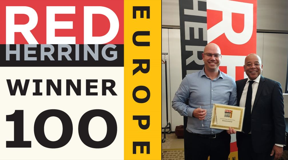 BreezoMeter Wins Red Herring Europe 100 Award