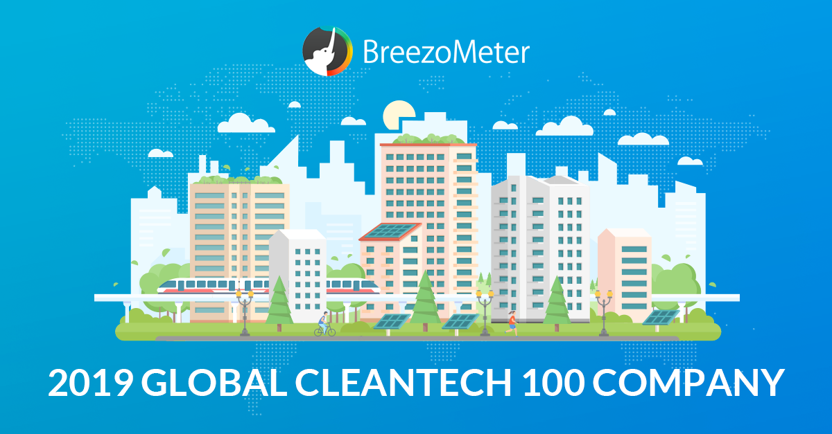 BreezoMeter Named Cleantech Top 100 Company
