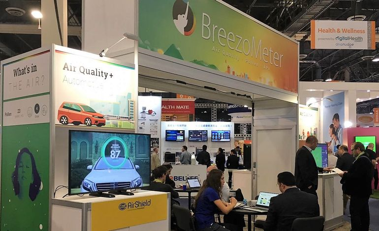 CES 2018 BreezoMeter Booth-2
