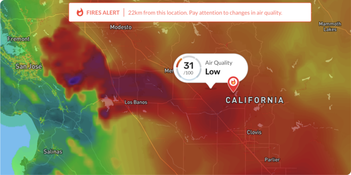 California Wildfires: When Inaccurate Air Quality Information is Worse than No Information