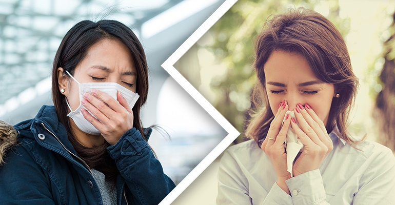 Pollen vs Air Pollution Health Impact